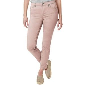 Buffalo Midrise Super Soft Pink Ankle Jeans